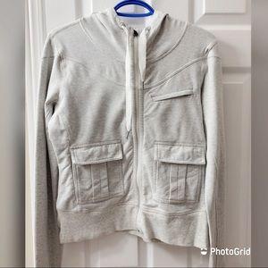 Lululemon Athletica two pockets grey sweater